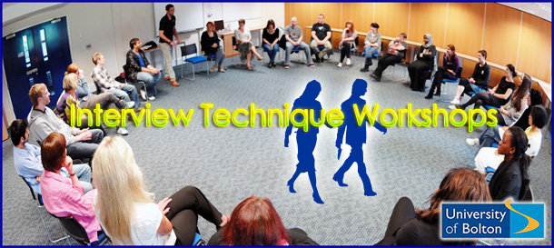 2engage iinterview technique workshop at Bolton University