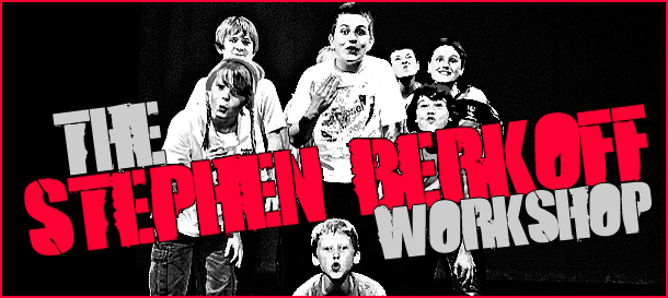 Stephen Berkoff workshop